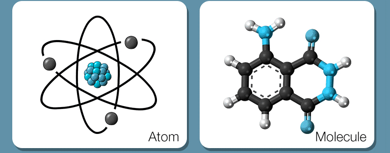 atom and molecule